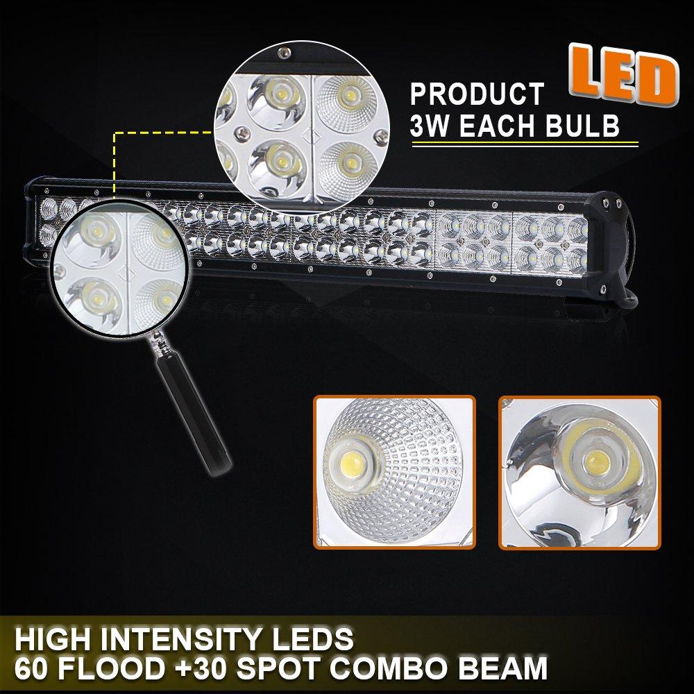 23 Led Light Bar Wiring Kit Atv Utv Antenna Tribal Truck Rv Toyota Jeep Gmc Suv