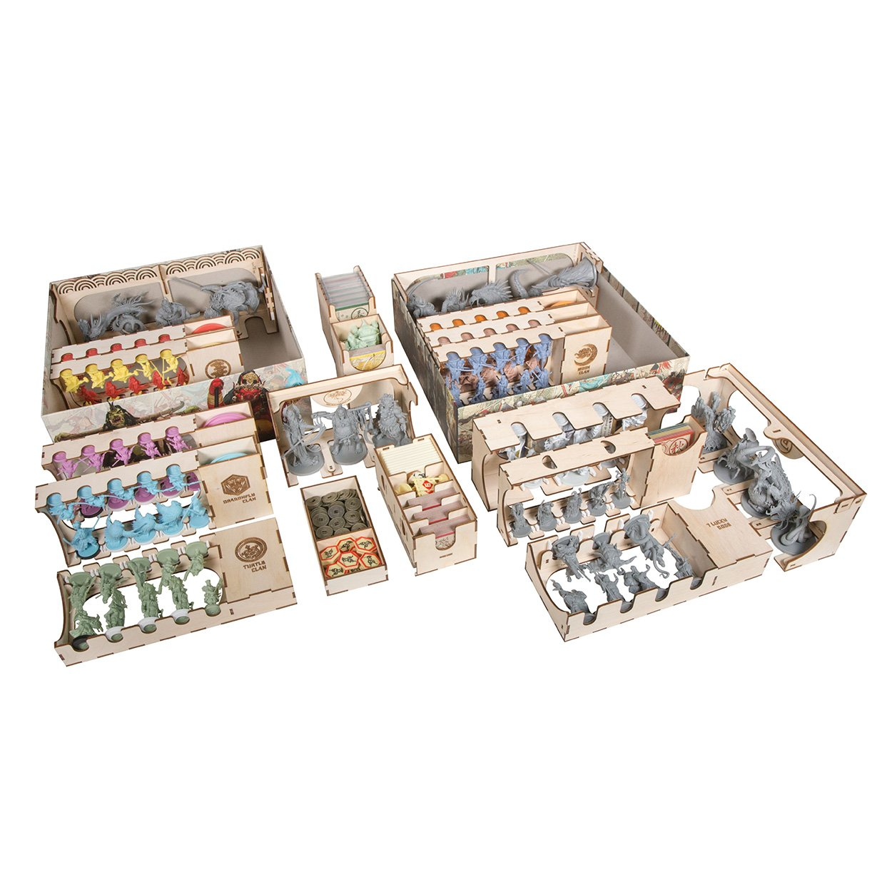 The Broken Token Box Organizer for Rising Sun Daimyo Collection