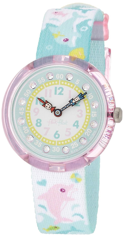Amazon.com: Flik Flak FBNP035 Girls Splashy Dolphins Multicolour Watch: Watches