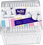 Caja hisopo de algodón bella, 4-pack (4 x 200 piezas)