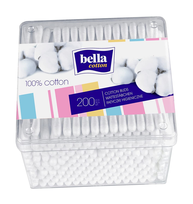 Bella Cotton Buds (4 x Box of 200) BC-081-P200-001