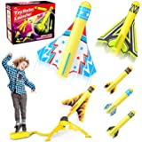 Jasonwell Toy Rocket Launcher for Kids Sturdy Stomp Launch Toys Fun Outdoor Toy for Kids Gift for Boys and Girls Age 5 6 7 8