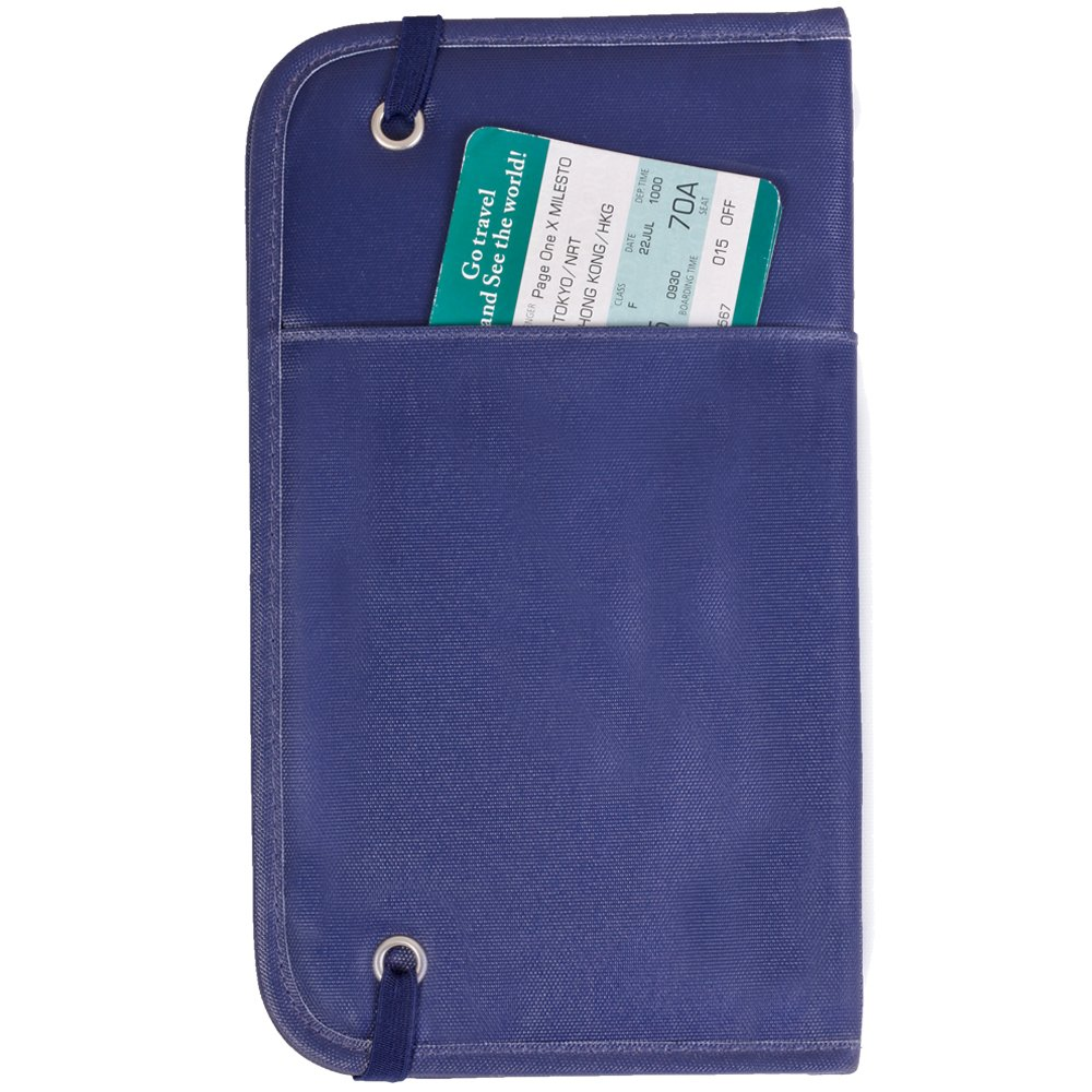 27eb34a64122 okiedog Zugvogel Passport & Document holder Luxe Line Delft blue