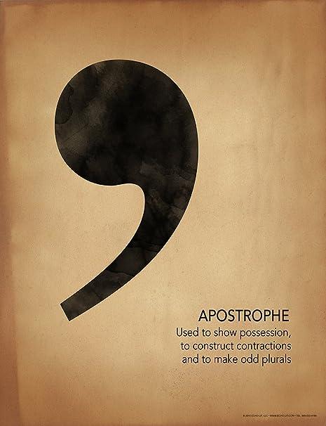 Amazon.com: APOSTROPHE Puntuación, escritura y gramática ...
