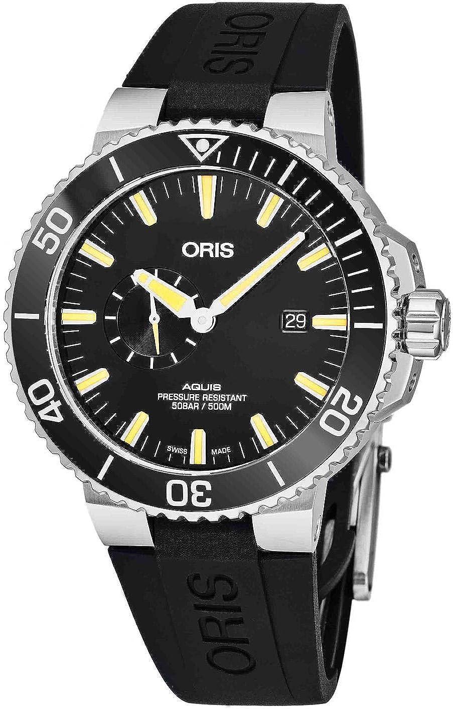 Oris Aquis Reloj de Hombre automático 45.5mm 01 743 7733 4159-RS ...