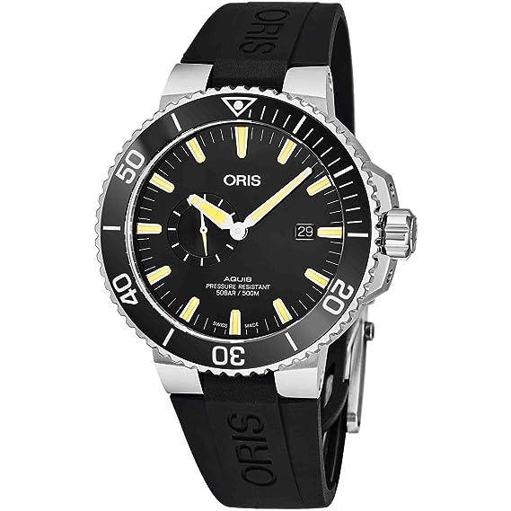 Oris Aquis Reloj de Hombre automático 45.5mm 01 743 7733 4159-RS