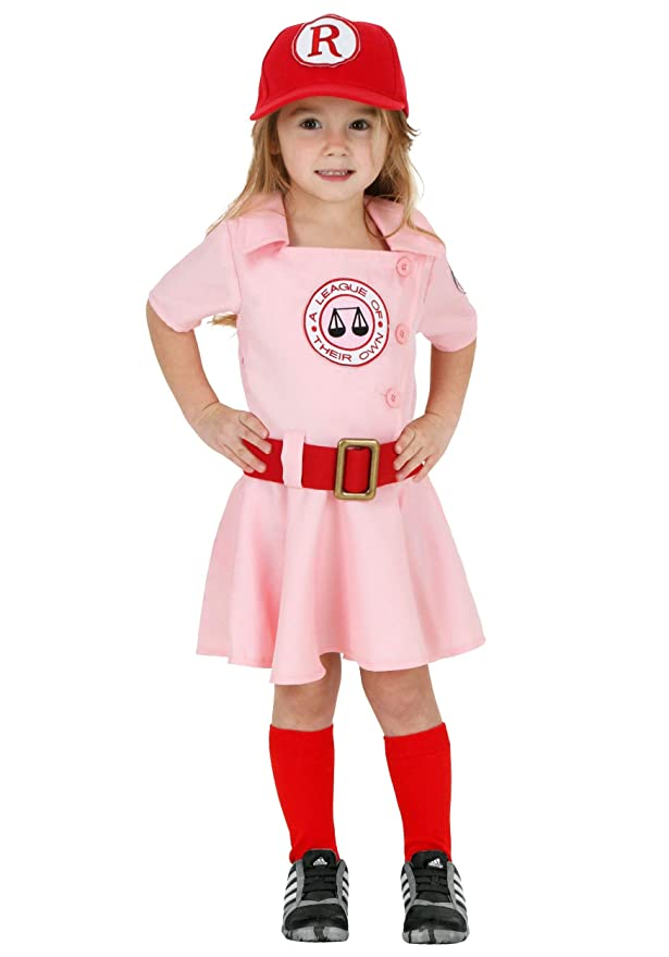 1940s Children's Clothing: Girls, Boys, Baby, Toddler A League of Their Own Toddler Dottie Baseball Costume $39.99 AT vintagedancer.com