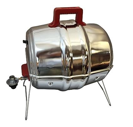 Amazon.com: keg-a-que Rojo Gas Parrilla con asas Bake Lite ...