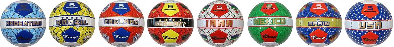 Toopスポーツワールドカップ国チームボールサイズ5 B07BXBP6CX