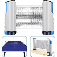 Aiglam Red de Tenis de Mesa,Repuesto Portátil Retráctil Table Tennis Net-Net Entrenamiento Redes de Tenis de Mesa Longitud Ajustable