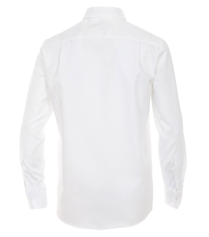 Casa Moda Hochzeitshemd weiss 100% Baumwolle Kentkragen Grünckte Knopfleiste Knopfleiste Knopfleiste B004CYUTJC Smoking & Frack Verbraucher zuerst 5e7457