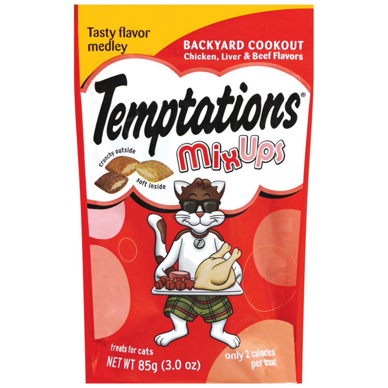 amazon com temptations mixups treats for cats backyard cookout