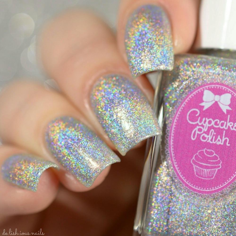 Oh Ship! - holographic nail polish by Cupcake Polish