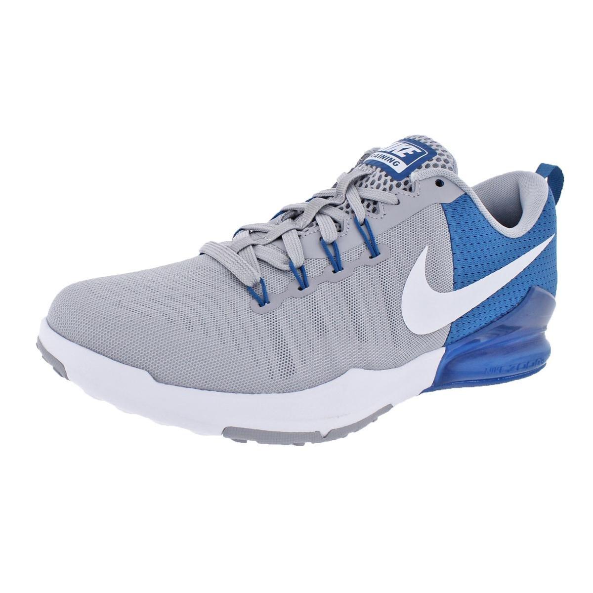 NIKE Mens Zoom Train Action Mesh Running, Cross Training Shoes Gray 6 Medium (D)