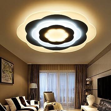 TDDT Schlafzimmer Lampe LED Deckenleuchte Moderne Einfache Blume ...