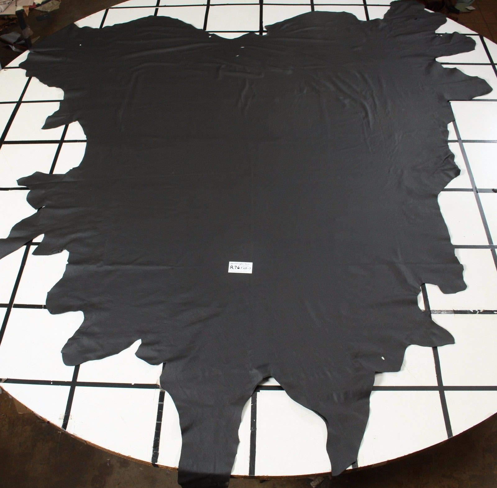 Stunning Black Graphite Automotive Leather Hides AVG 44 sqft $99 per Hide!!!!