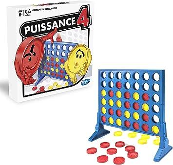 Hasbro Potencia 4 – Juego de Mesa de Potencia 4 – Juego de Estrategia – Versión Francesa: Amazon.es: Juguetes y juegos