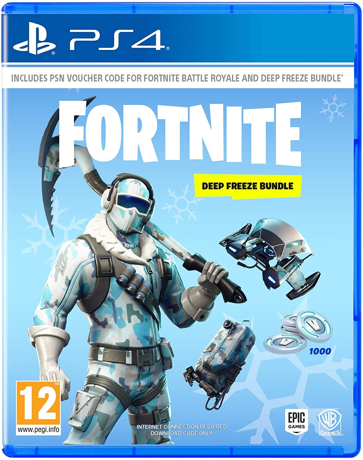 fortnite deep freeze bundle nintendo switch amazon co uk pc video games - fortnite assistance pc