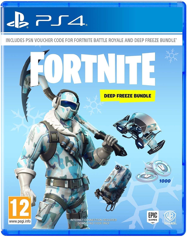 Warner Bros Warner Bros Fortnite: Deep Freeze Bundle PS4 USK: 12: Amazon.es: Videojuegos