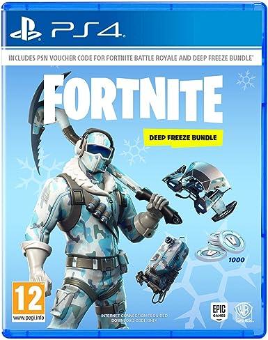 Fortnite: Deep Freeze Bundle - PlayStation 4 [Importación inglesa ...