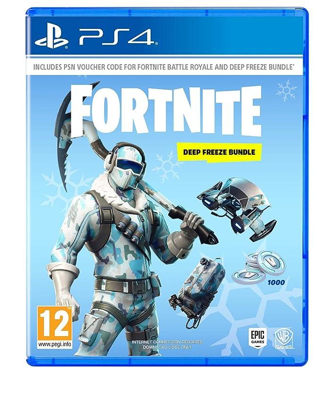 Warner Bros Fortnite: Deep Freeze Bundle PS4 USK: 12: Amazon.es: Videojuegos