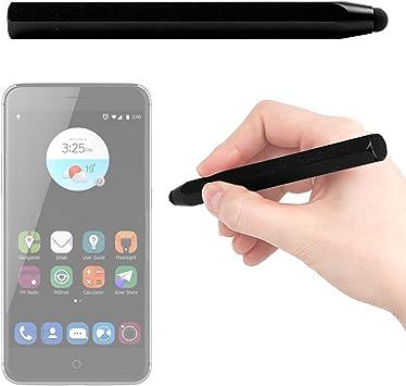 DURAGADGET Lápiz Stylus Negro para BLU Vivo 5 / Huawei GX8 / P8 ...