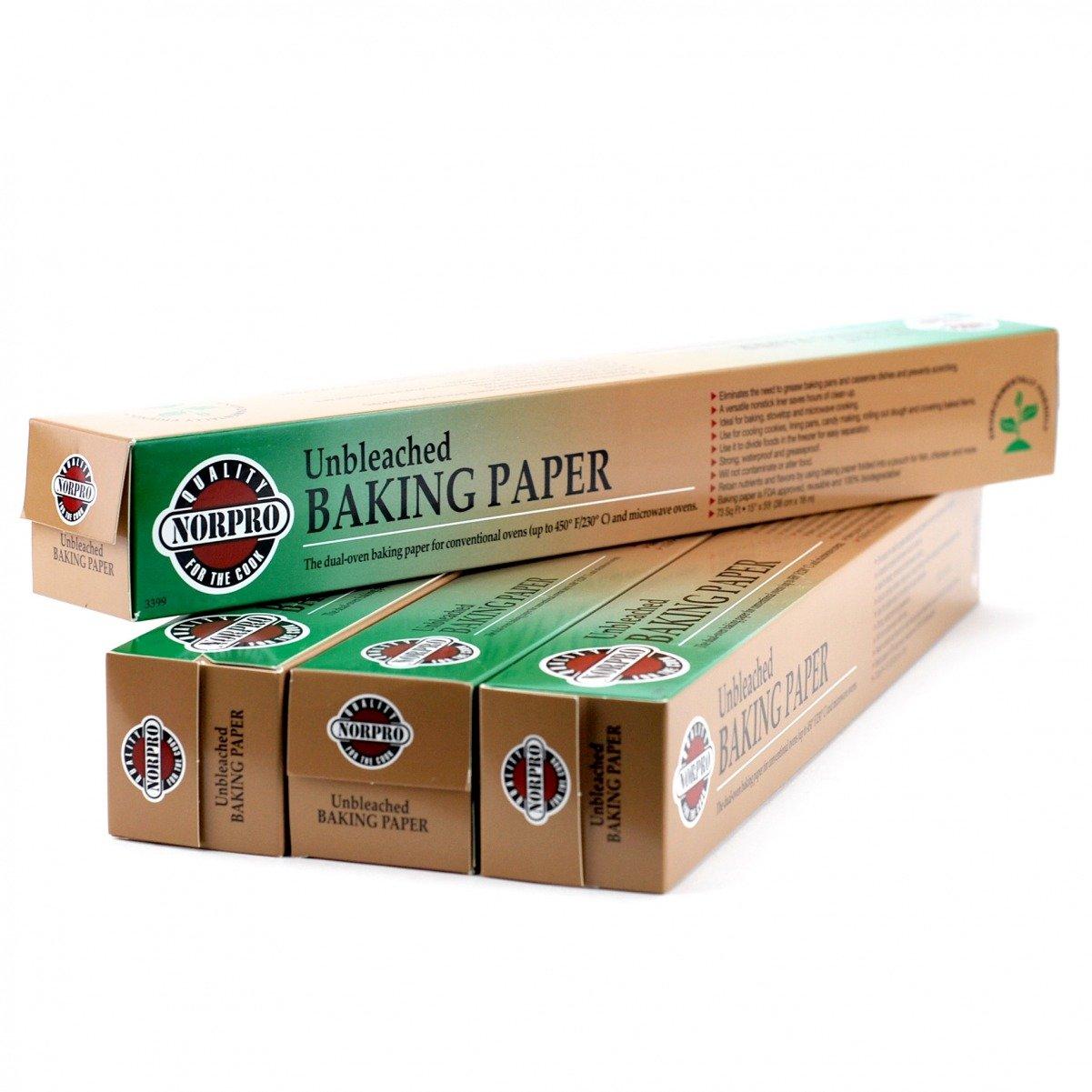 Parchment Paper Sheets, Reusable Baking Cut Parchment Paper Squares (pack Of 4) by Norpro Kitchenware (Image #1)