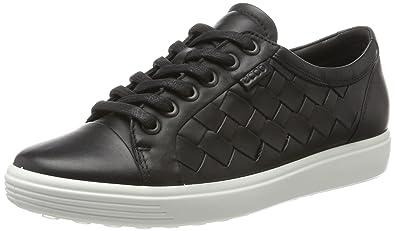 91afbc3369cc2b ECCO Women s Soft 7 Woven Tie Fashion Sneaker