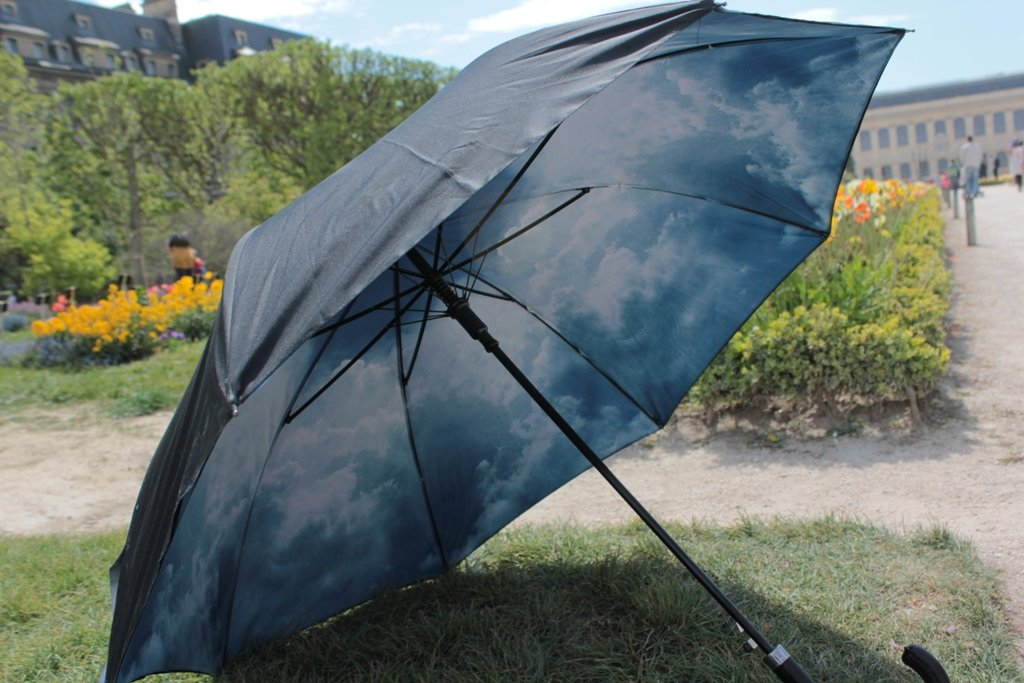 VON LIILENFELD/® Parapluie Automatique Femme Homme Double /Épaisseur Motif Ciel hambourgeois