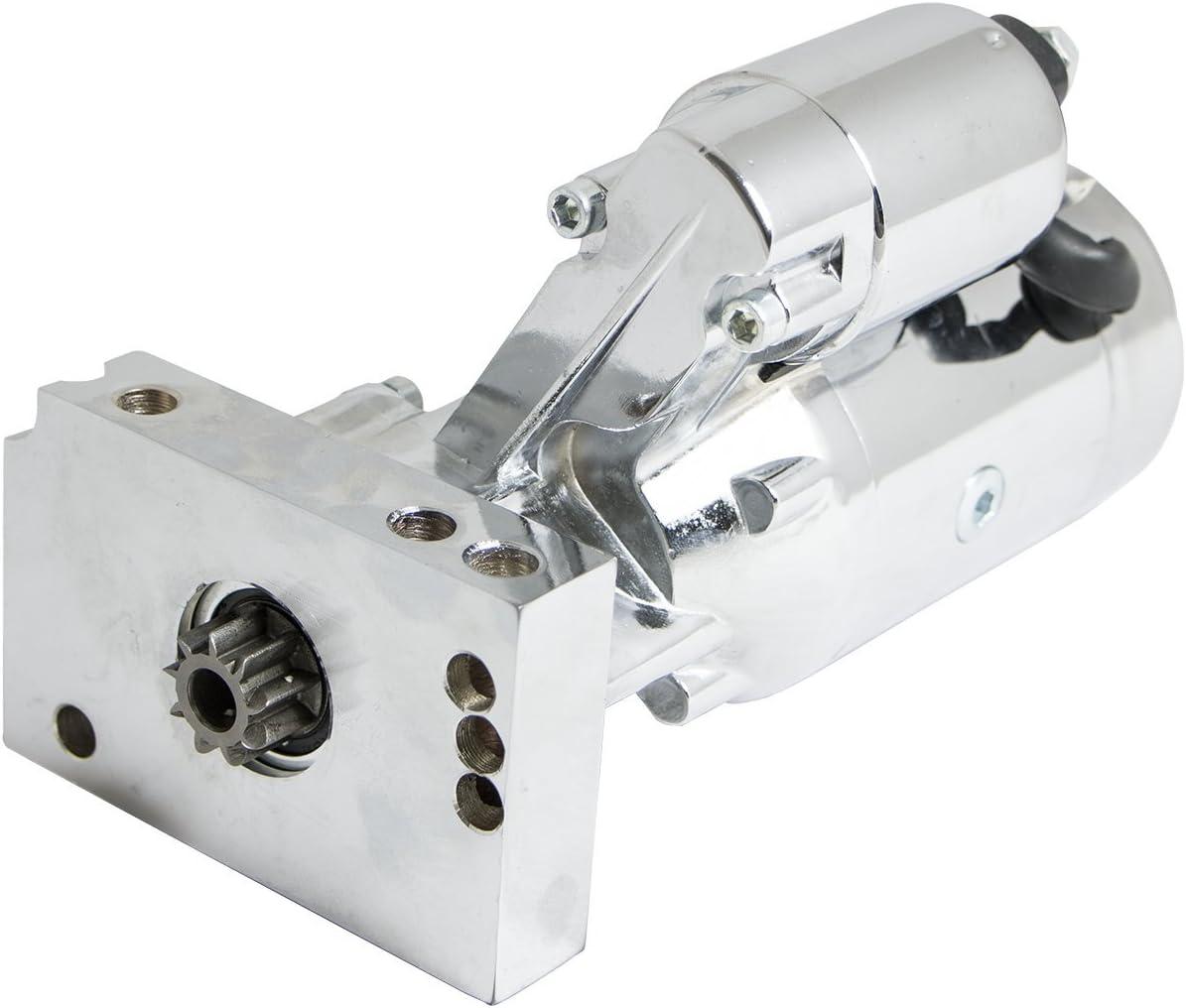 Top Street Performance JM7002C Chrome Finish Starter Motor
