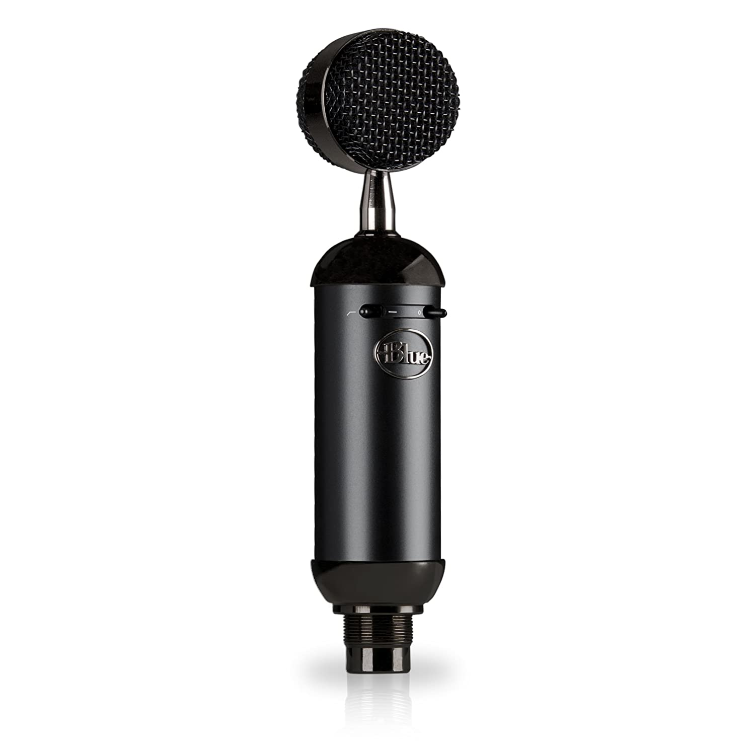 Blue Microphones 137 137 Spark Blackout SL XLR Condenser Mic for Pro Recording and Streaming