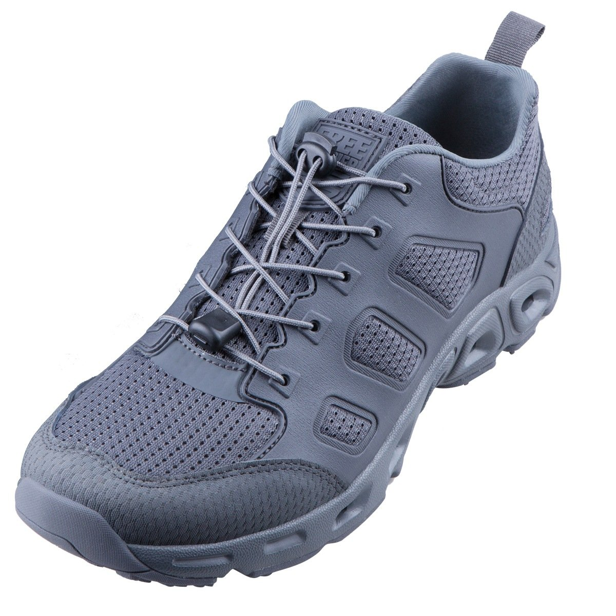 FREE SOLDIER Zapatos de Senderismo Tácticos para Hombre, ultraligeros, Transpirables, de Secado Rápido, para Exteriores(Gris, 39) 39|Gris