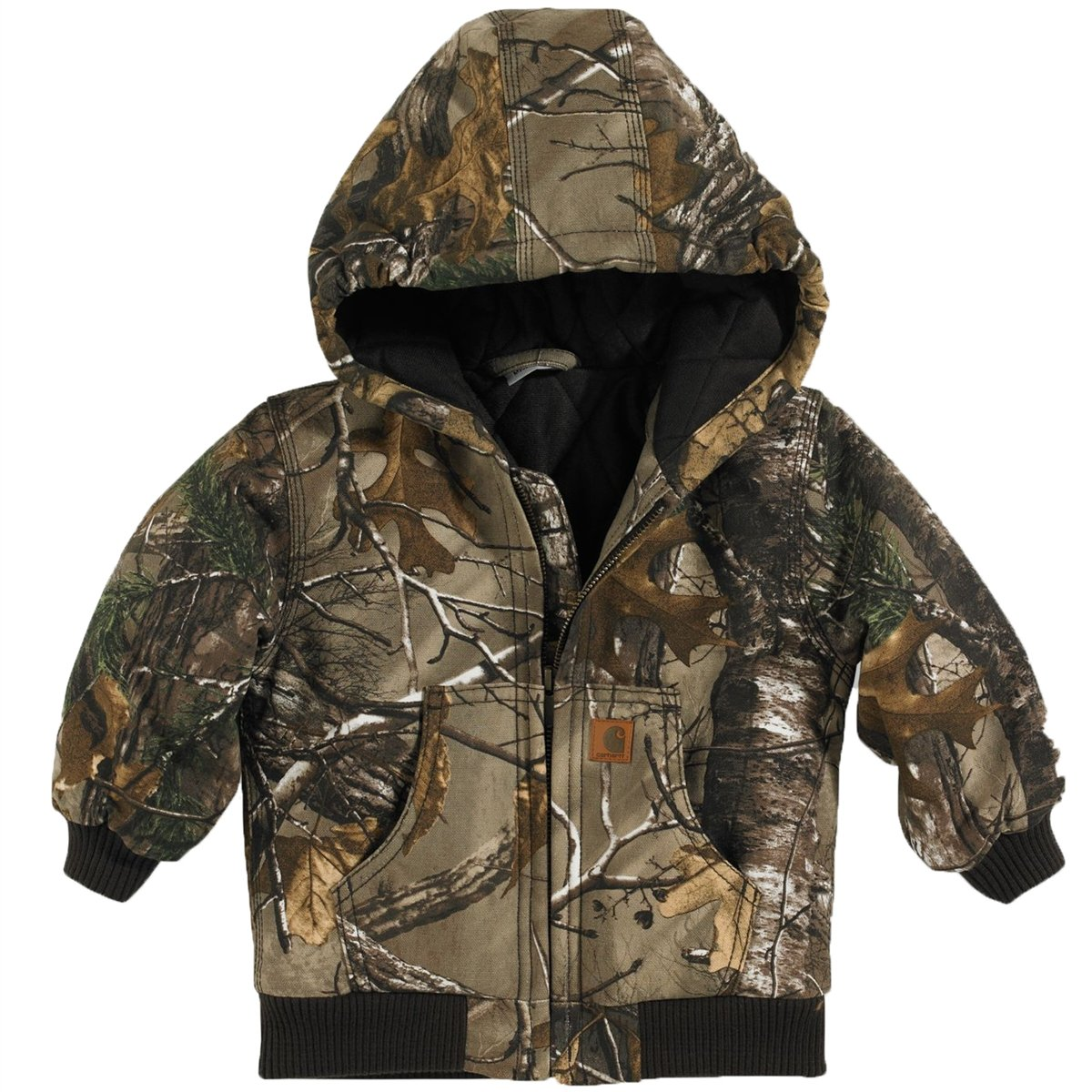 Carhartt Boy's Camo Active Jacket LT Apparel Parent Code CP8467