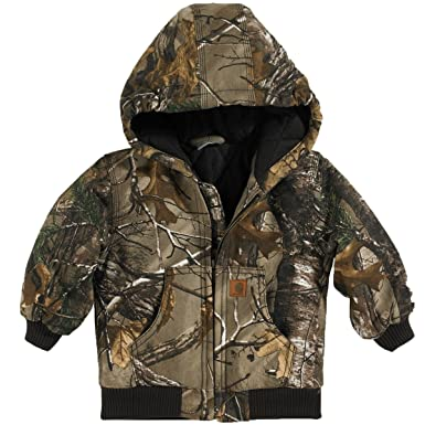 9c8c58823355f Amazon.com  Carhartt Boy s Camo Active Jacket  Clothing