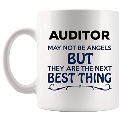 Amazon com: The Next Angels Auditor Mug Best Coffee Cup Mugs
