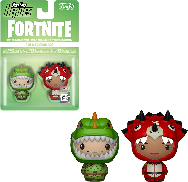 PSH 2-Pack: Fortnite: Rex & Tricera Ops: Amazon.es: Juguetes y juegos