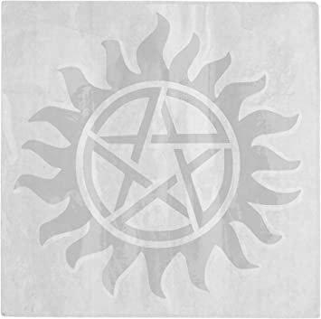 Anti-Possession Symbol Supernatural catholic voodoo demons Decal Sticker for Car