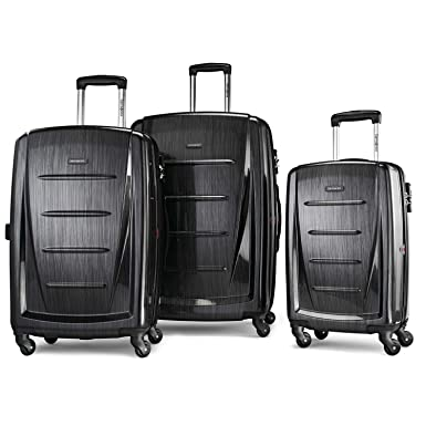 6687c8692 Samsonite Winfield 2 Expandable Hardside Luggage Set with Spinner Wheels,  3-Piece (20