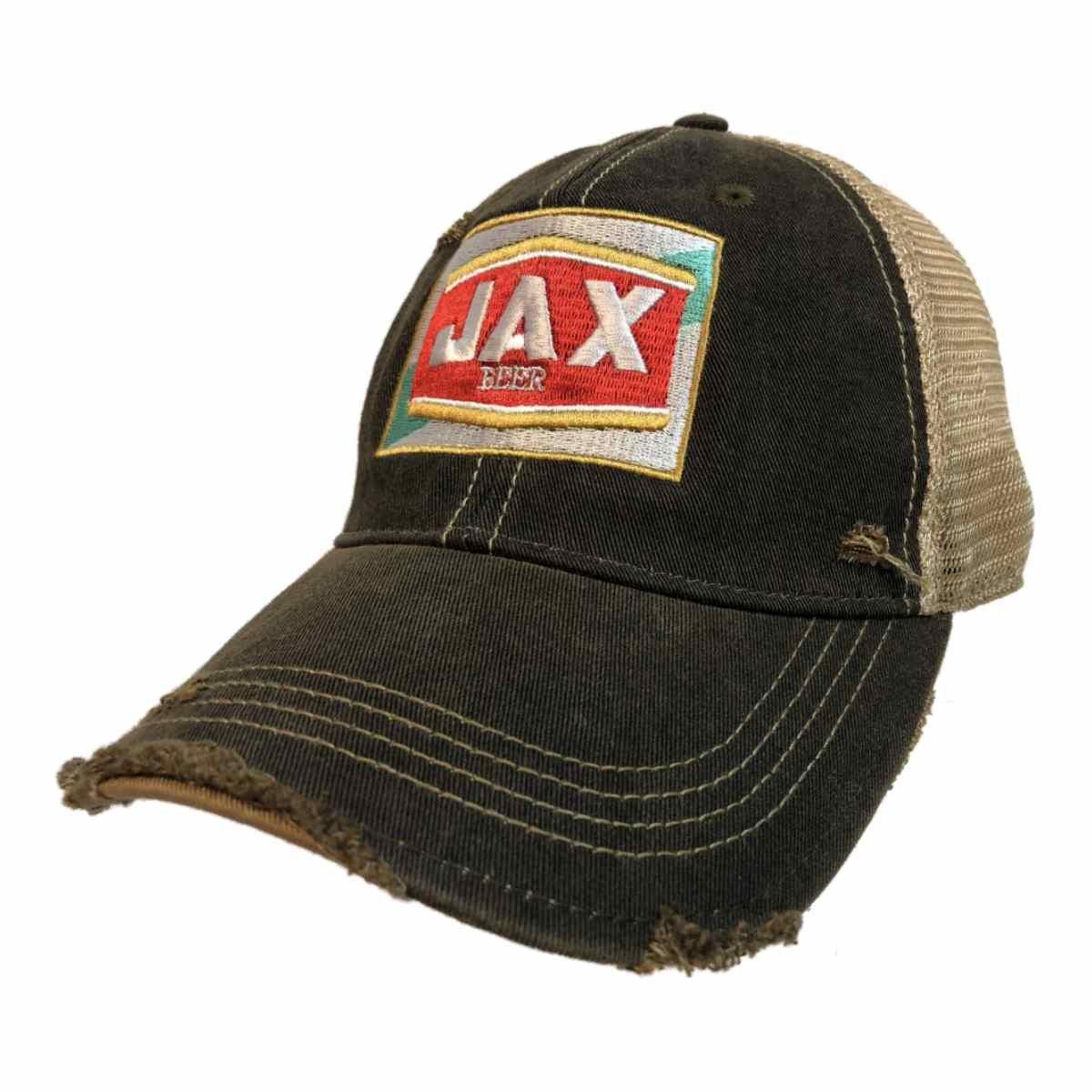 4d77c7a5d09 Amazon.com  Jax Beer Brewing Company Retro Brand Vintage Mesh Adjustable Snapback  Hat Cap  Sports   Outdoors