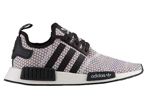 04836cd63c977 adidas Men s Originals NMD R1 Mesh Running Shoes Black  Amazon.co.uk  Shoes    Bags