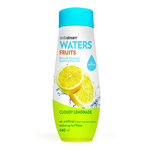SodaStream Cloudy Lemonade Sparkling Water Drink Mix, 440ml