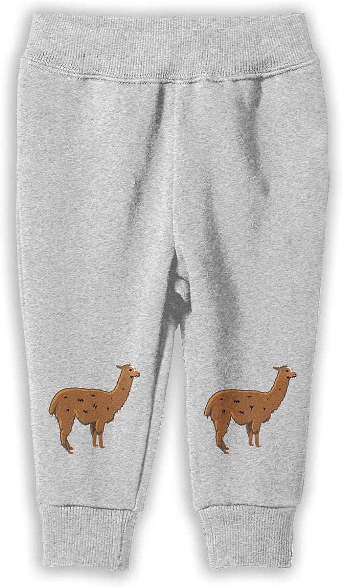 Classic Boys /& Girls Jogger Play Pant Llama Clipart Kids /& Toddler Pants