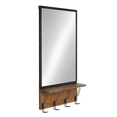 Amazon.com: Kate and Laurel Coburn - Espejo de pared (marco ...