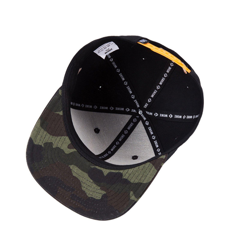 Amazon.com: 2019 New Maple Leaf Baseball Cap for Men Women Flat Brim Strapback Gorras Hat Hip Hop Bboy Panel Snapback Cap Black: Clothing