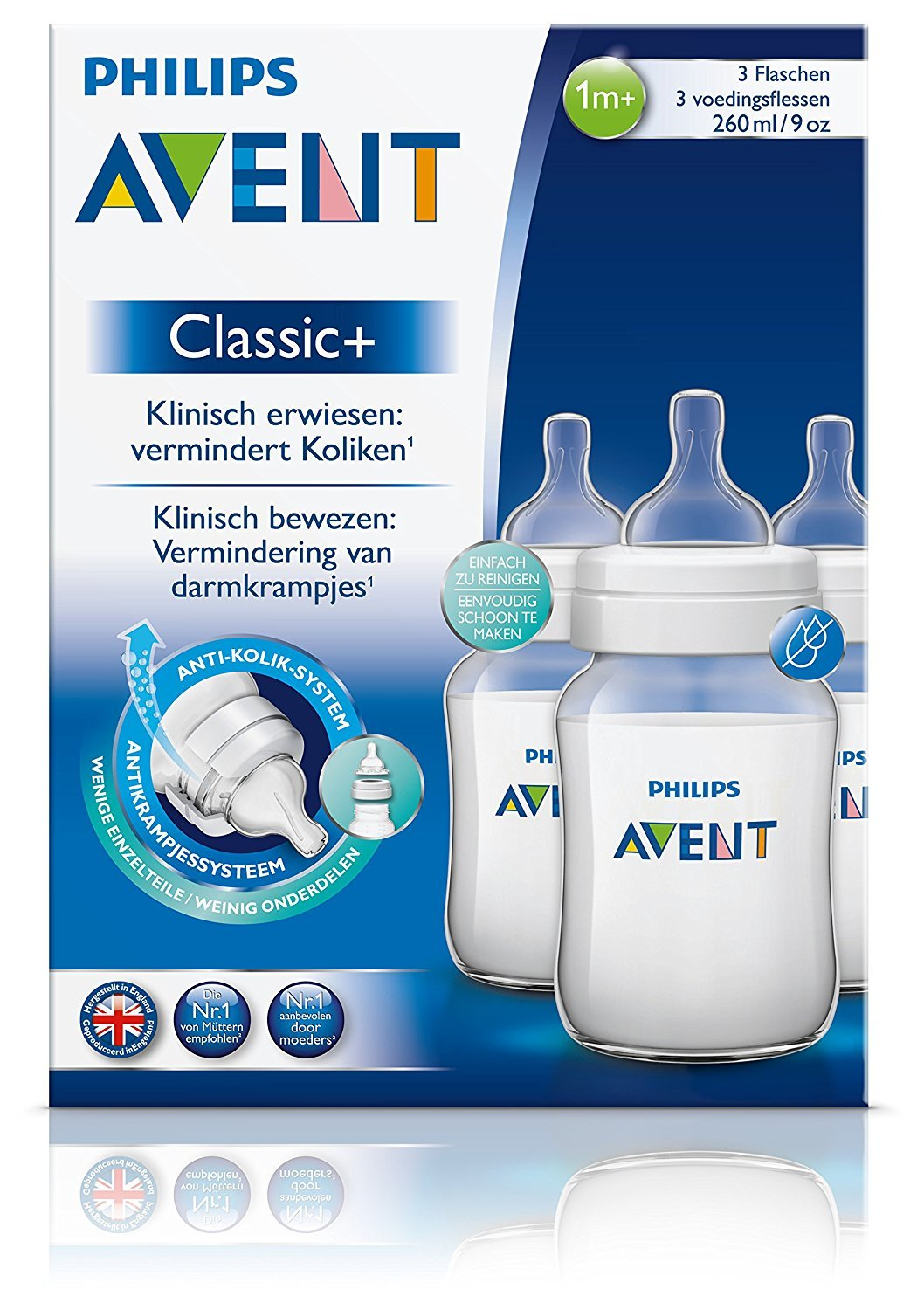 Buy Philips Avent 125ml Classic Plus Feeding Bottle Twin Pack Natural Isi 2 Online At Low Prices In India
