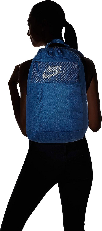 One Size Black//Black//White Nike Unisexs Elemental LBR Backpack