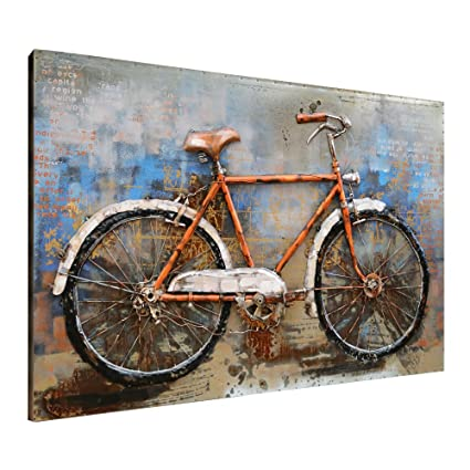 amazon com asmork 3d metal art 100 handmade metal unique wall
