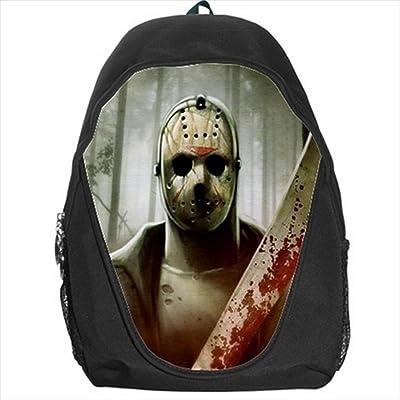 Jason Voorhees Friday the 13th Kid Backpack School Bag