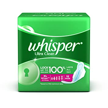 Amazon.com: Whisper Ultra Clean - XL Wings (15 Pads): Health ...