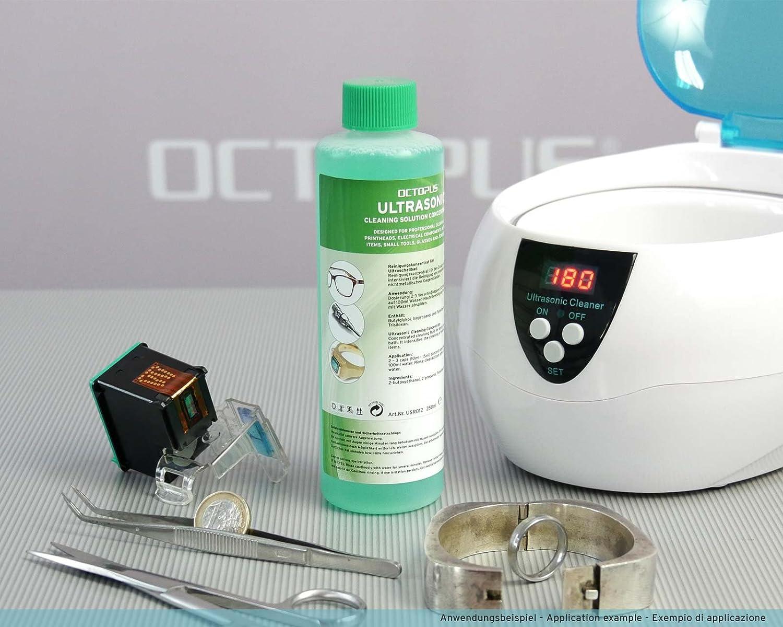 Octopus detergente per pulizia ad ultrasuoni concentrato per la